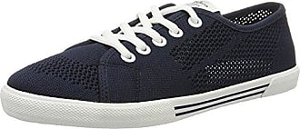 London Damen Aberlady Satin Sneaker, Blau (Dk Ocean), 38 EU Pepe Jeans London
