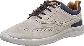 London Jayden Brogue, Sneakers Basses Homme, Gris (Grey), 43 EUPepe Jeans London