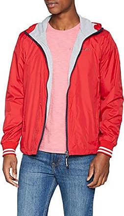 Ons, Abrigo para Hombre, Rojo (Berry), Large Pepe Jeans London
