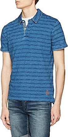 Schank, Polo Homme, Bleu (DK Blue), Small (Taille Fabricant:S)Pepe Jeans London