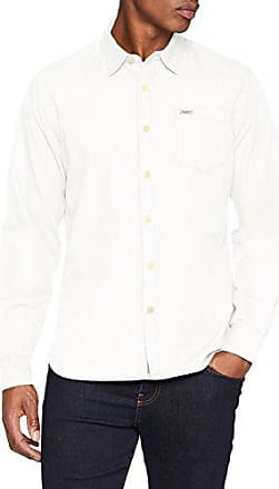 Presti, Camisa para Hombre, Blanco (White), Large Pepe Jeans London