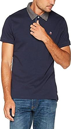 Schank, Polo para Hombre, Azul (Dk Blue), Small Pepe Jeans London