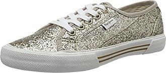 London, Sneakers Basses Femme, Or (Gold), 38 (EU)Pepe Jeans London