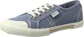 Pepe Jeans London - Zapatillas Mujer, Azul (Azzurro), 37 (EU)