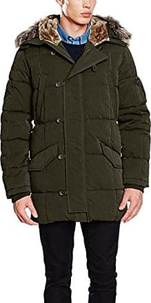 Woodlander, Manteau Homme, Vert (DK Green), X-Small (Taille Fabricant:XS)Pepe Jeans London