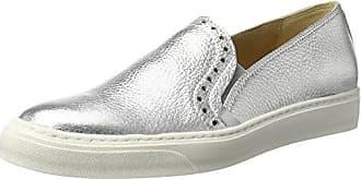 402, Zapatos de Cordones Derby para Mujer, Beige (Titanio Titanio), 35 EU Peperosa
