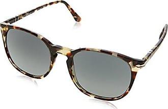 Persol Unisex-Erwachsene Sonnenbrille 0Po3129S 105771, Braun (Havana/Grey Brown/Grey Grey), 46