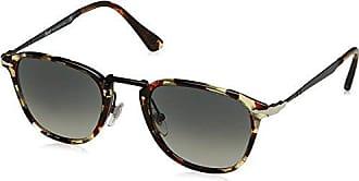 Persol Herren Sonnenbrille 0Po3165S 105771, Braun (Havana/Grey/Brown/Grey Grey), 52