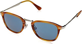 Unisex-Adults 3158 Sunglasses, Brown/Beige Tortoise 1056R5, 56 Persol