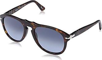 Persol Herren Sonnenbrille 0PO3108S, Braun (Havana/Green), 49