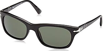 Persol Herren Sonnenbrille 0PO8649S, Schwarz (Black/Green), 56