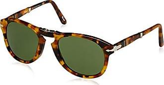 Persol Herren Sonnenbrille 0PO3149S, Braun (Havana/Green), 52