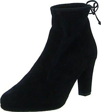 Peter Kaiser »Nubukleder« High-Heel-Stiefelette, schwarz, EURO-Größen, schwarz