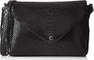 Flo Python, Womens Cross-Body Bag, Noir (Black), 6x15x25 cm (W x H L) Petite Mendigote
