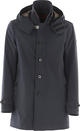 Down Jacket for Men, Puffer Ski Jacket On Sale in Outlet, Black, polyestere, 2017, M Peuterey
