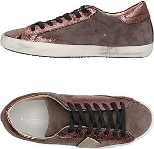 Womens Shoes On Sale in Outlet, Bordeaux, Leather, 2017, 7.5 Philippe Model