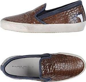 Mens Shoes On Sale, Avio Blue, Canvas, 2017, 10.5 6.5 7 8 9 9.5 Philippe Model
