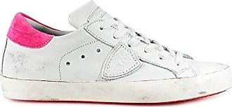 Damenschuhe Turnschuhe Damen Leder Schuhe Sneakers Madeline Weiß EU 36 A18EVBLDV014 Philippe Model 2kcJQbjT