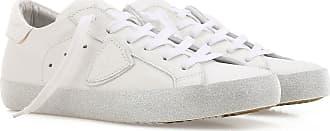 Sneaker Donna On Sale, Bianco, pelle, 2017, 36 38 40 Philippe Model