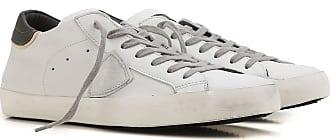 Chaussures De Sport Pour Les Hommes En Vente, Gris, Cuir, 2017, 39 40 42 43 44 45 Modèle Philippe