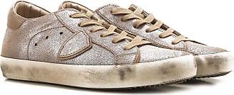 Sneakers for Women On Sale, Las Vegas Blue, Leather, 2017, 4.5 5.5 Philippe Model
