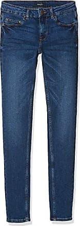 Damen Skinny Jeans Pcfive Betty DNM F112 MW Skn MB/Noos Pieces