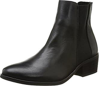 Umiko Leather Zipper Boot, Bottines femme - Noir (Black), 37 EUPieces