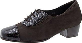 Schnürschuhe Grey Metal Suede 180623 Komfort Damenlederschuh PieSanto tIa1W2