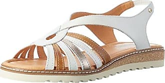 Alcudia W1l_v17, Sandales Bout Ouvert Femme, Blanc (Nata), 40 EUPikolinos