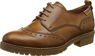 W67-4649_i18, Zapatillas de Estar por Casa para Mujer, Marrón (Arcilla Arcilla), 38 EU Pikolinos