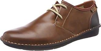 Santiago M7b, Zapatos de Cordones Oxford para Hombre, Marrón (Cuero), 39 EU Pikolinos