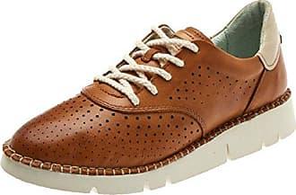 Vera W4l, Zapatos de Cordones Derby para Mujer, Beige (Marfil), 40 EU Pikolinos