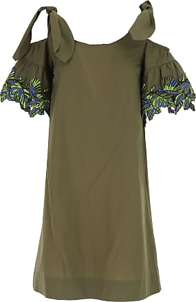Dress for Women, Evening Cocktail Party On Sale in Outlet, Military Green, polyester, 2017, 8 Pinko