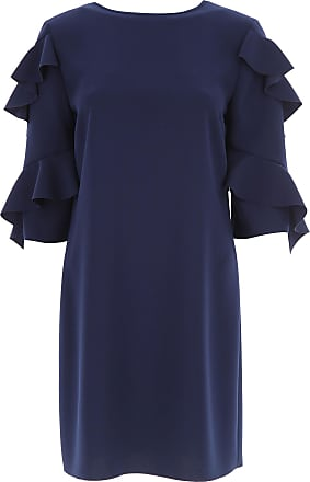 Dress for Women, Evening Cocktail Party On Sale, Navy Blue, Viscose, 2017, 8 Michael Kors