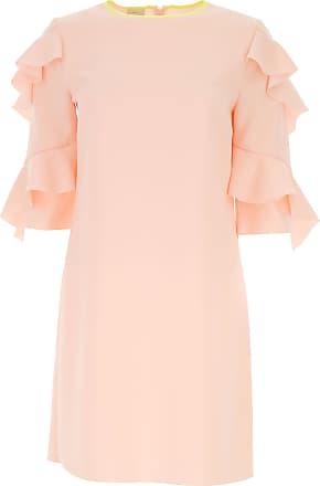 Dress for Women, Evening Cocktail Party On Sale, Pale Pink, Cotton, 2017, 6 8 Pinko