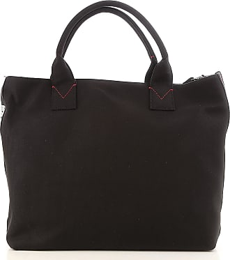 Pinko Tote Bag On Sale, Black, Canvas, 2017, one size