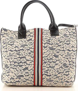 Pinko Tote Bag On Sale, Yellow, satin, 2017, one size
