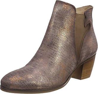 Chris, Chelsea Boots Femme, Beige (Cognac 06), 40 EUPintoDiBlu