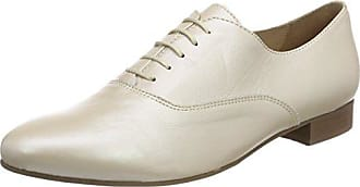 Pinto Di BLU Canary, Zapatos de Cordones Oxford para Mujer, Beige (Beige 22), 37 EU PintoDiBlu