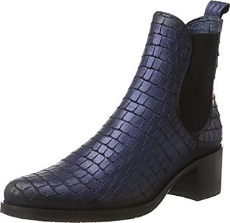 Lisa, Bottines Femme, Noir (Blue 03), 38 EUPintoDiBlu