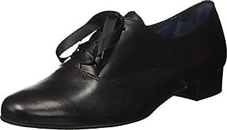 Pinto Di Blu Mary, Chaussures Oxford Lacets Pour Les Femmes, Noir (noir 01 + 01), 37 Eu