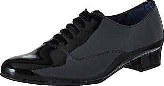 Pinto Di BLU Julie, Zapatos de Cordones Oxford para Mujer, Negro (Black 01), 37 EU