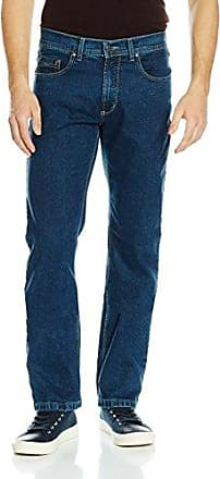 Womens Straight Jeans, Blue (dark blue - stone used with buffies 167), 36/30 Pioneer Authentic Jeans