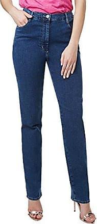 Pioneer Authentic Jeans Stefanie, Vaqueros (Pierna Recta) para Mujer, Black (Black 11), 50 W/32 L