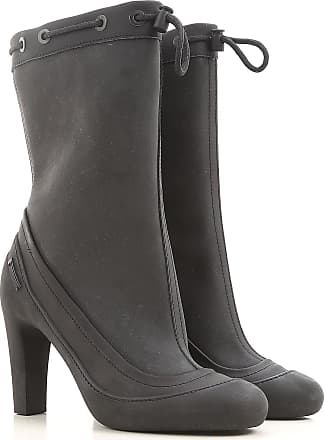 Boots for Women, Booties On Sale in Outlet, Black, Calfskin Leather, 2017, 5.5 Fendi