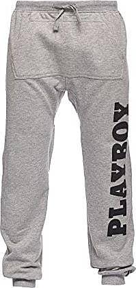 Grigio Wna Para Mel Print Vertical Hombre Logo Gris Pantalones Pants O14x0w