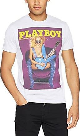 Print Postage Stamp, T-Shirt Homme, Gris (Grigio Mel 03), SPlayboy