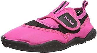 Badeschuhe Neonfarben mit Höchstem UV-Schutz Nach Standard 801 174796, Unisex-Kinder Aqua Schuhe, Blau (Blau 7), 18/19 EU Playshoes