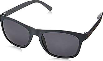 Polaroid Herren Sonnenbrille Pld 2033/S Y2 Cvs, Schwarz (Black Ruthen/Grey Pz), 55
