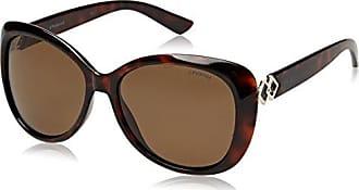 Polaroid Damen Sonnenbrille Pld 4050/S SP 086, Braun (Dark Havana/Bronze Pz), 58
